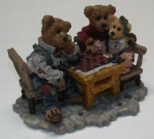 Vg 1996 Grenville w/Matthew & Bailey.Sunday Afternoon Boyds Bears #2281 Mfrb