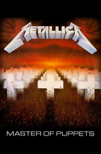 Metallica Poster Master of Puppets Album Official Textile Flag 70cm X 106cm