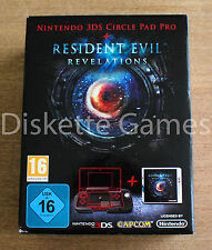 RESIDENT EVIL REVELATIONS + CIRCLE PAD PRO - NINTENDO 3DS - PAL ESPAÑA - NUEVO
