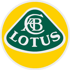 LOTUS CARS  Decals   11in.  FACTORY PRINTED DECAL    $11.99  FREE SHIPPING