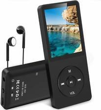 Lettore Mp3 da 8gb, Radio FM, Supporto per MicroSD fino a 64GB + Auricolari