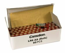 60 x Camelion AA Batterie LR6 1,5V Plus Alkaline High Energy lose Rot