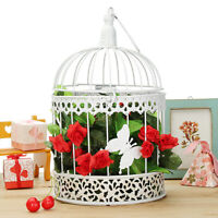 Iron Bird Cage Wedding Birdcage Pieces Center Hanging Table Card Box Well Gift