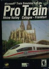 Microsoft Train Simulator Pro Train: Rhine Valley Cologne-Frankfurt (PC, 2002)