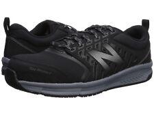 Men New Balance MID412B1 Steel Toe Work Shoes Extra Wide 4E Black Silver Origina