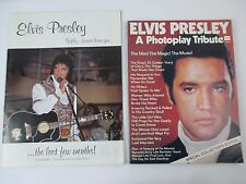Elvis Presley Fan Club Book and Photoplay Tribute lot 2