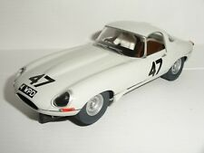 Scalextric - Jaguar E-Type White #47 Graham Hill - NEW/Unboxed