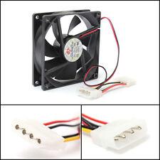 NEW 9cm/90x90x25mm 12V 4Pin Computer PC CPU Silent Cooling Cooler Case Fan Black