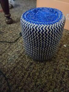 Handwoven Palm Leaf Basket
