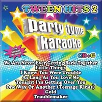 PARTY TYME KARAOKE - TWEEN HITS 2 [8+8-SONG CD+G] CD  BRAND NEW SEALED