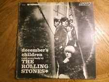 The Rolling Stones December's Children (And Everybody's) VINYL LP PS 451 ZAL7031