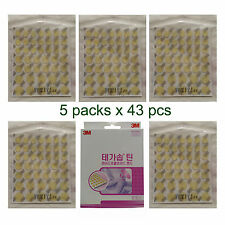 3M Tegasorb Thin Hydrocolloid Bandage Wet Dressing Acne Care Round 43P x 5 Packs