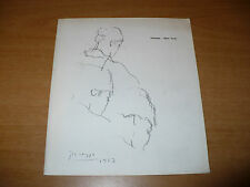 DRAWINGS AND WATERCOLORS CATALOGO MOSTRA 1968 GALLERIA ODYSSIA NEW YORK PICASSO