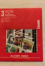 """Timbres Canada - non oblitérés - """" Pochettes trimestrielles """" - septembre 1994"""