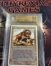 MTG SUMMER EDITION SAVANNAH LIONS (BGS 9.5) pop3 gem mint magic card edgar
