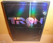 TRON 20th anniversary DVD disney JEFF BRIDGES bruce BOXLEITNER david WARNER
