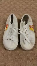 White Winnie the Pooh Sneakers Tennis Shoes Size 9.5 Canvas (S4 A17) e1ae53077