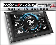 Edge Insight CTS2 Monitor w/ Unlock Cable Fits 2013-2017 Dodge Ram Cummins
