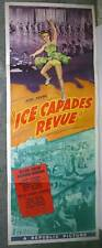ICE CAPADES original 1942 movie poster SKATING/MEGAN TAYLOR/DONNA ATWOOD