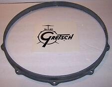 "Gretsch Die Cast Drum Hoop 14"" 8 Hole Un-Plated Snare (Bottom) Side Raw"