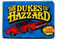 1981 The Dukes of Hazzard Trading Card Pack
