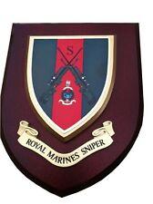 Royal Marines Sniper Wall Plaque Regimental Military Army