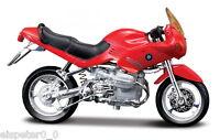BMW R1100RS Rosso, Maisto Modellino Moto 1:18, NUOVO, conf. orig.