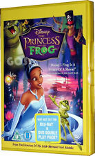 The Princess And Frog Walt Disney Animated Film Childrens Movie DVD New Sealed