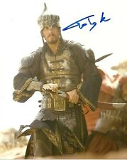 Prince of Persia Toby Kebbell Autographed Signed 8x10 Photo COA w/proof