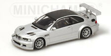 1/43 BMW M3 GTR  Street Version  2001  Siver with carbon roof