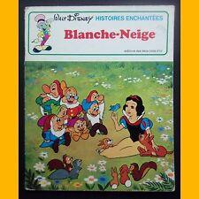 Collection Histoires Enchantées BLANCHE-NEIGE Walt Disney 1976