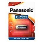 10x CR123A Foto-Batterien Lithium CR123 Photobatterie von PANASONIC Blisterpack