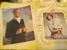 Happiest Of Families Vintage Royal Family Booklet From 1950's
