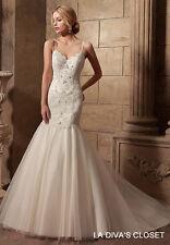 Spaghetti Strap Princess Wedding Dress, Reg $329.00 Sale $279.00
