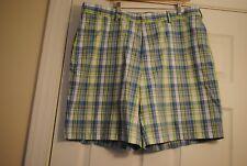 Pro Tour Golf Shorts - Size 40 - Blue Plaid - EUC!