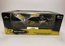 #2 MILLER 25th Anniversary Rusty Wallace 1:24 MGD LITE with Stand Display Case