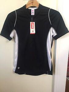 New Women's Specialized Shasta Jersey Short Sleeve Size Small Black w/White