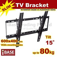 LCD LED PLASMA FLAT TILT TV WALL MOUNT BRACKET 32 40 46 50 55 60 64 70 75 FREE