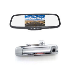 Rear View Backup Camera + Clip-on Mirror Monitor for Isuzu D-Max Dmax