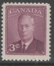 CANADA SG416 1949 3c PURPLE MTD MINT