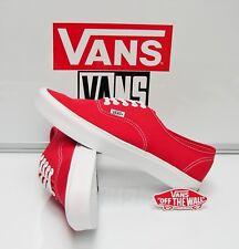 Vans Authentic Lite High Risk Red True White VN-0XB35SK Men s Size  9 d0f30e799