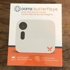 Ooma Butterfleye Smart Security Camera BTFU100WH Battery Backup NEW NIB