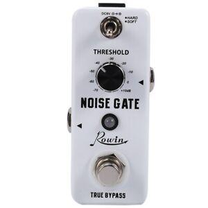 Rowin Guitar Noise Killer Noise Gate Suppressor Effect Pedal R8D5