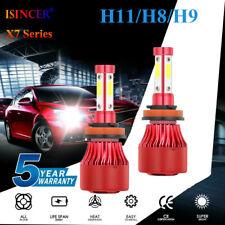 4 Sides CREE H8 H9 H11 2400W 360000LM LED Headlight Bulbs Conversion Kit 6000K