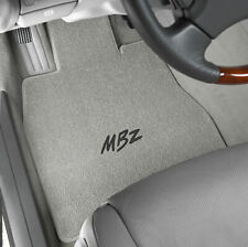 Lloyd Mats Classic Loop Grey Front Floor Mats for Mercedes-Benz 1955 to 2016