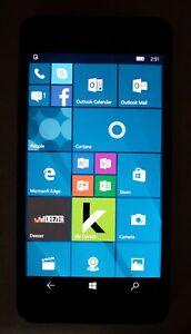 "MICROSOFT LUMIA 650 16gb Quad-Core Dual Sim 8mp 5.0"" Windows 10 Smartphone LTE"