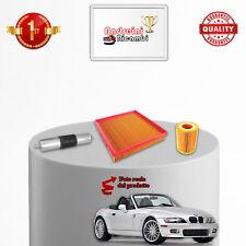 KIT TAGLIANDO 3 FILTRI BMW Z3 1.9 103KW 140CV 1998 ->