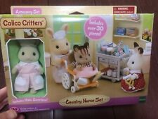 New Sylvanian Families Calico Critters Country Nurse Set Discontinued
