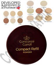 CCUK Constance Carroll Compact Pressed Face Powder Refills Light/Medium/Dark UVA