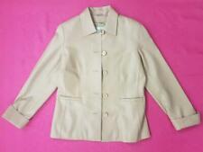Women Paz Torras Ladies Real Leather Jacket Long Sleeves Brown Eur 40